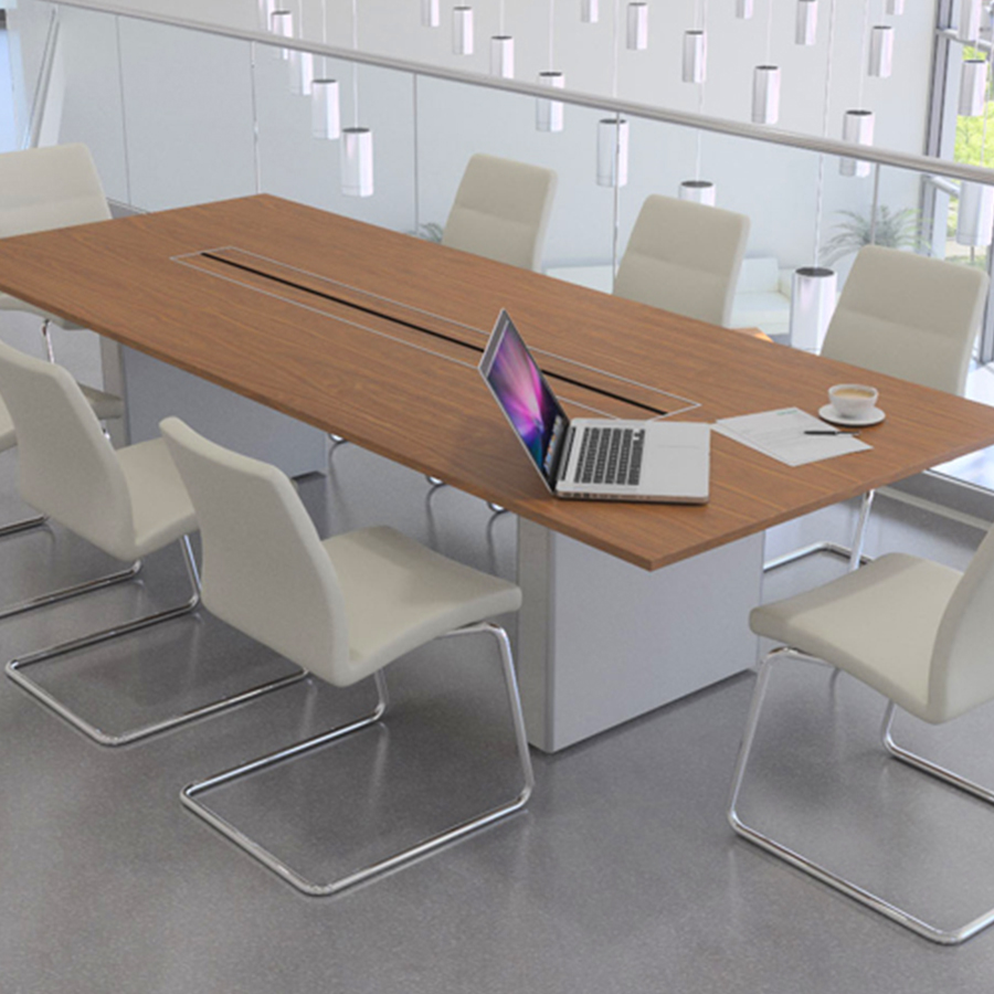 Conferance Room Table And Chairs D Model