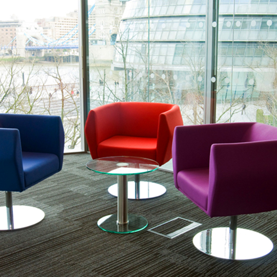 Soft seating modern officemodern office for Furniture companies