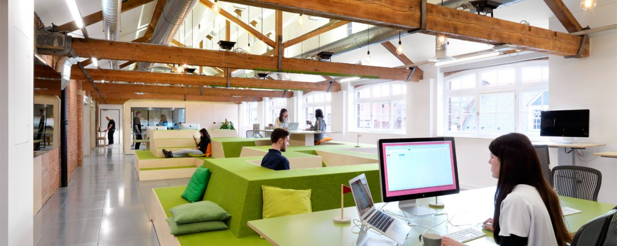 open plan office design is preventing workers from concentrating