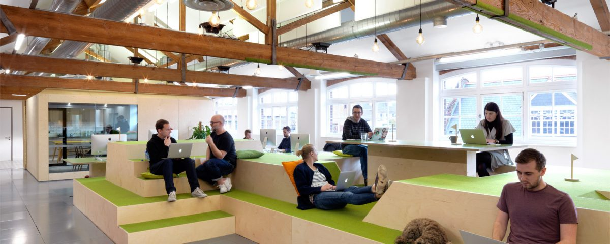 Soft seating modern officemodern office - Five Innovative Office Designs From Clerkenwell Design